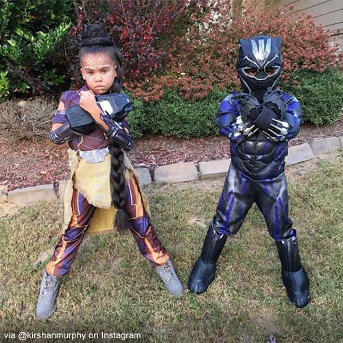 Black Panther Costume Halloween