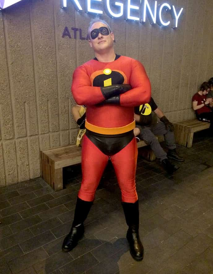 The Incredibles Costume Mr Incredible Superhero Costume DIY